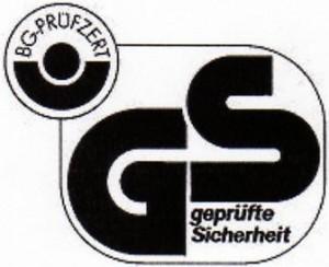 GS-Zeichen - für geprüfte Sicherheit